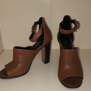 Coach Genuine Leather 4 inch block heels!
